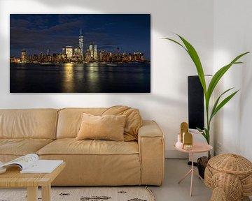 New York City skyline at night von Marieke Feenstra