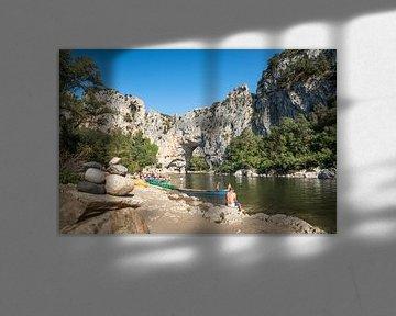 Vallon-Pont d'Arc Ardèche Frankrijk van Johan Vet