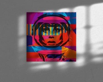Jean im Weltraum von Harry Hadders