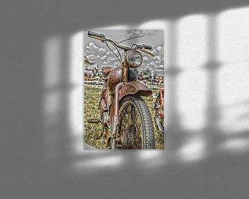 Rostiges Moped von Ans Bastiaanssen