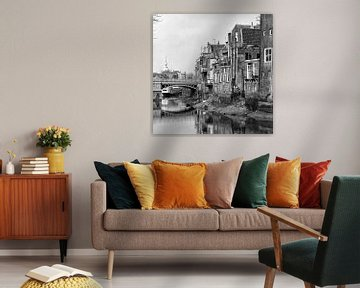 Dordrecht Voorstraathaven (Nieuwbrug) von Dordrecht van Vroeger