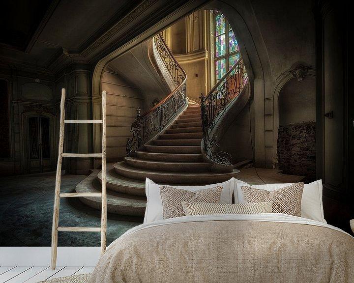 Beispiel fototapete: Schloss Belgien von Kelly van den Brande