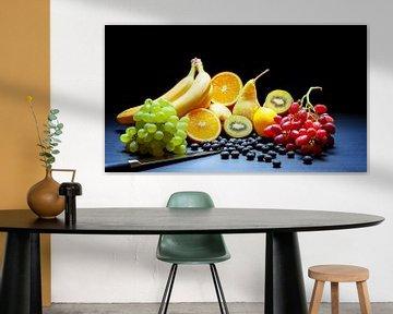 Divers types de fruits sur R Smallenbroek