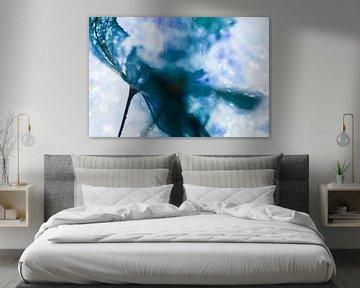 Blaue Hortensien von Nanda Bussers