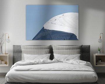 Breithorn van Frans Bouvy