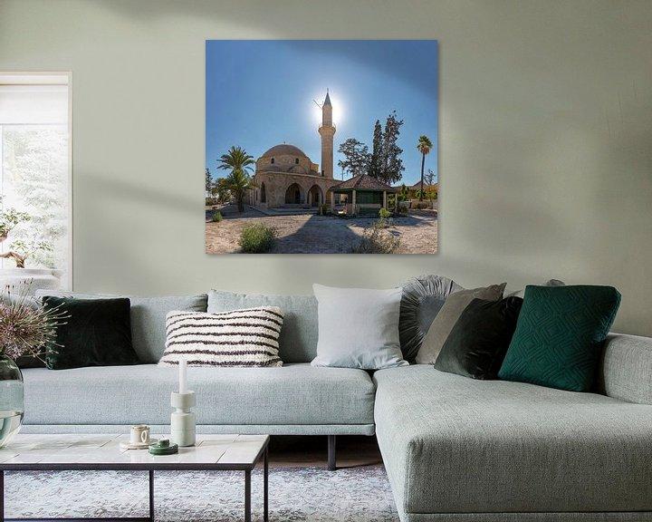 Sfeerimpressie: De moskee van Umm Haram, Larnaca, South-Cyprus, Cyprus van Rene van der Meer