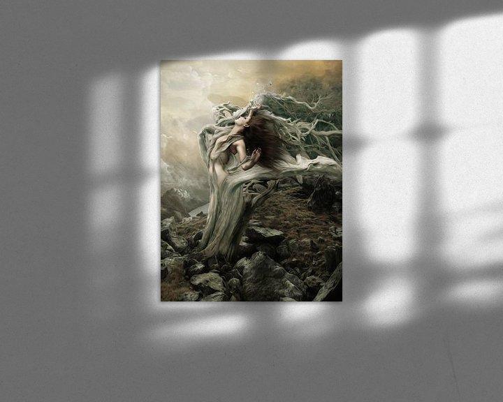 Sfeerimpressie: Surrender to the destanation of the wind van Babette van den Berg