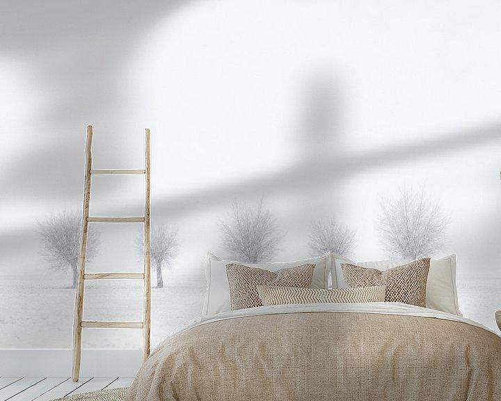 Sfeerimpressie behang: Quinted Winter van M DH