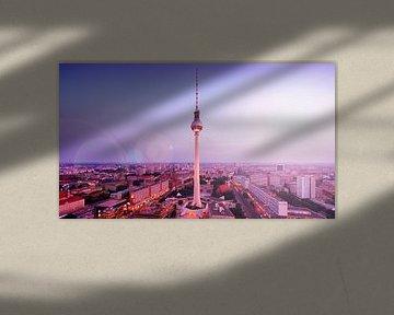 Berlin – Fernsehturm-Skyline sur Alexander Voss