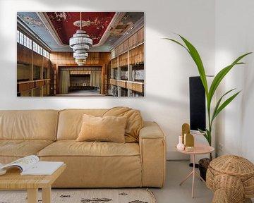 foto van een verlaten ballroom ( urbex ) van levaronne lourens