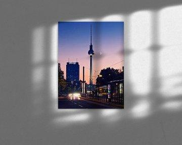 Berlin – Fernsehturm / Sonnenuntergang von Alexander Voss