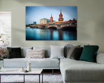 Berlin – Oberbaumbrücke (Langzeitbelichtung) von Alexander Voss