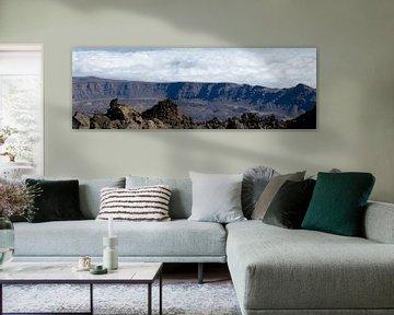 Panorama pico del Teide von Bas van Mook