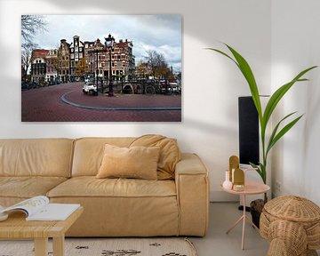 Amsterdam in Autumn sur Silva Wischeropp