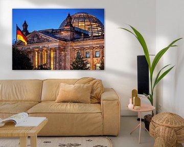 Berlin - Reichstag von Alexander Voss