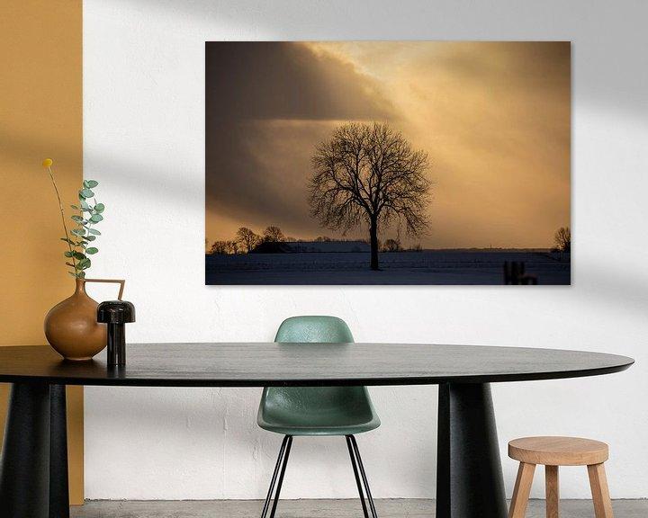 Beispiel: Sonnenuntergang in Nieuwe Statenzijl von Jan Sportel Photography