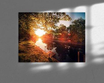 Berlin – Sonnenuntergang am Landwehrkanal von Alexander Voss