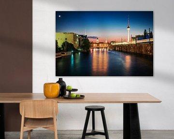 Berlin – Skyline Jannowitzbrücke von Alexander Voss