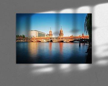 Langzeitbelichtung: Berlin – Oberbaumbrücke von Alexander Voss