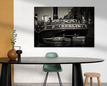 Schwarzweiss-Fotografie: Berlin – Historischer Hafen von Alexander Voss