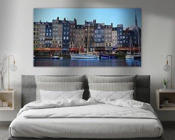 De haven van Honfleur, Normandië, La France