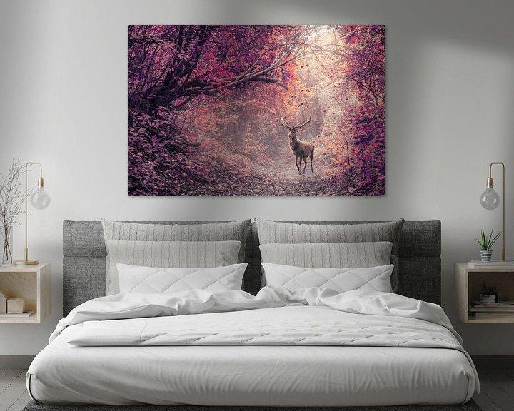 Beispiel: Das Rotwild im roten Wald von Elianne van Turennout