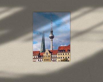 Berlin – Nikolaiviertel von Alexander Voss
