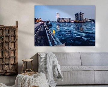 Berlin – Osthafen im Winter von Alexander Voss
