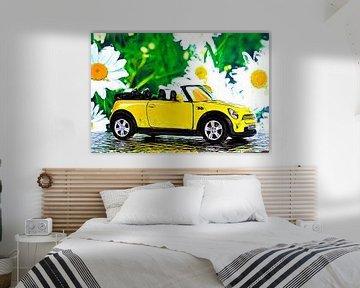 Cabriolet gelb