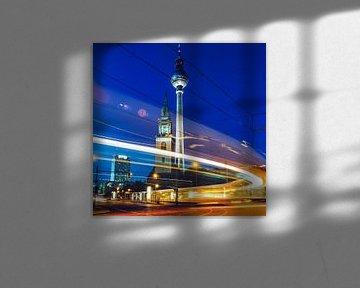 Berlin – Fernsehturm / Marienkirche von Alexander Voss