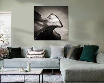 Schwarzweiss-Fotografie: Henry Moore – The Archer von Alexander Voss