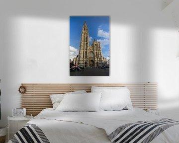 Onze-Lieve-Vrouwekathedraal Antwerpen van Dennis van de Water