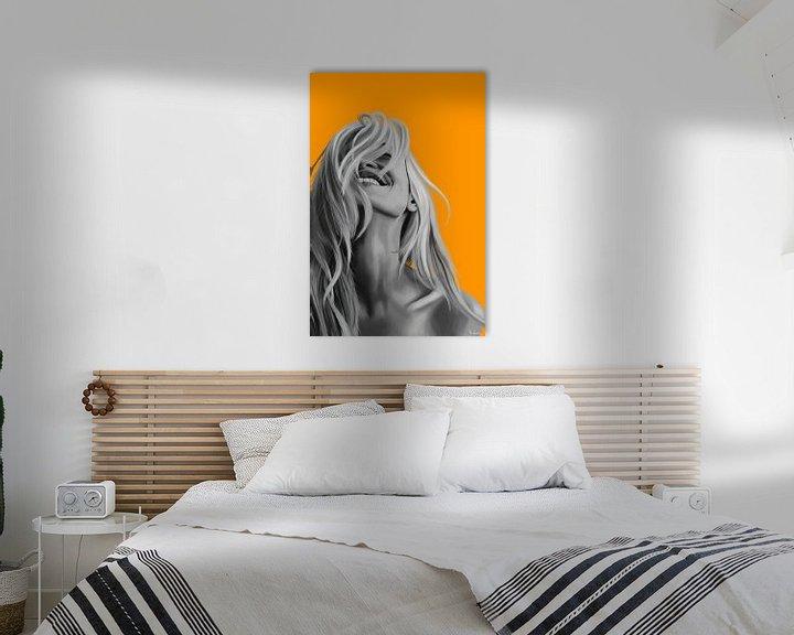 Sfeerimpressie: Oranje Lach van Kim Verhoef