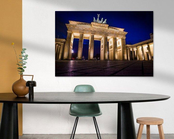 Sfeerimpressie: Brandenburger Tor van Leon Weggelaar