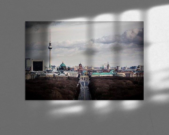 Sfeerimpressie: Oost Berlijn van Leon Weggelaar