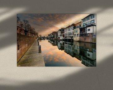 Nog meer reflecties in Gorinchem van Marcel Tuit