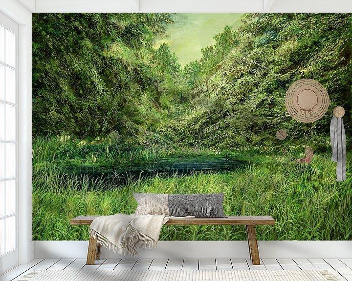Sfeerimpressie behang: Residence van Silvian Sternhagel