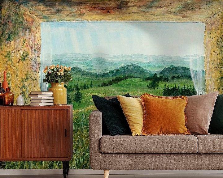 Impression: 'Nature Room' sur Art Demo