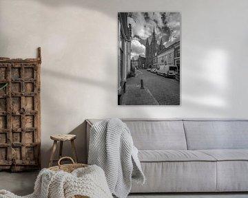 Zicht op de Sassenpoort, Zwolle van Foto Amsterdam / Peter Bartelings