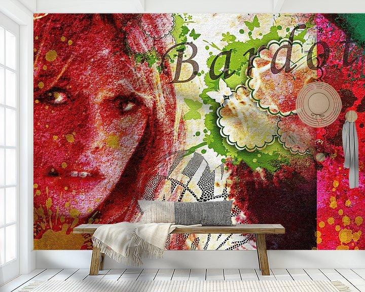 Beispiel fototapete: Brigitte Bardot von PictureWork - Digital artist