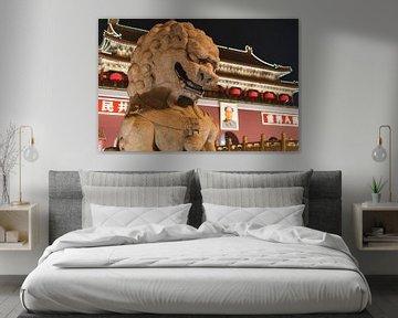 Forbidden City at night van Andreas Jansen