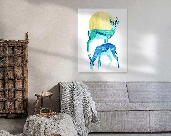 Sfeerimpressie: Antilopes in de zon van Goed Blauw