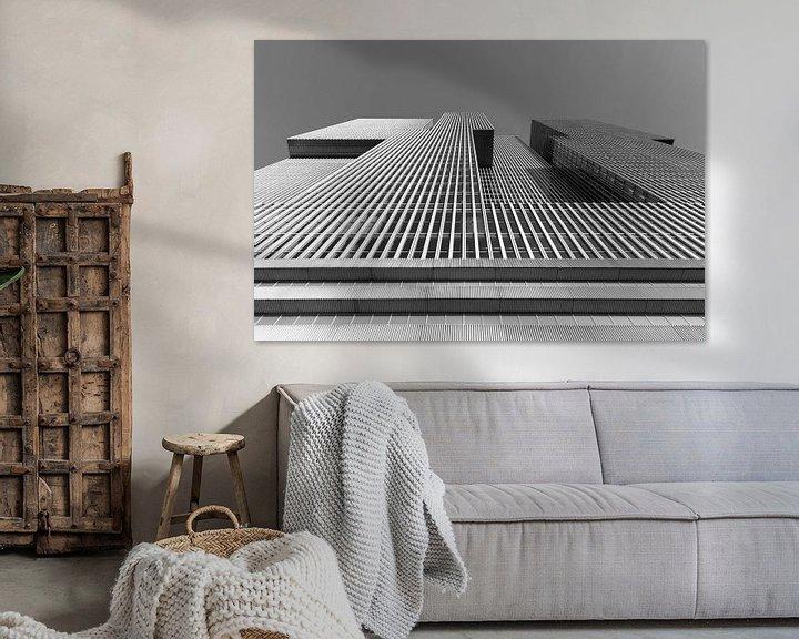 Sfeerimpressie: Het gebouw De Rotterdam op de Wilhelminapier in Rotterdam van MS Fotografie | Marc van der Stelt