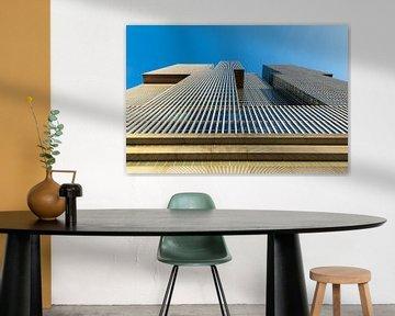 Das De Rotterdam Gebäude am Wilhelminapier in Rotterdam von MS Fotografie   Marc van der Stelt