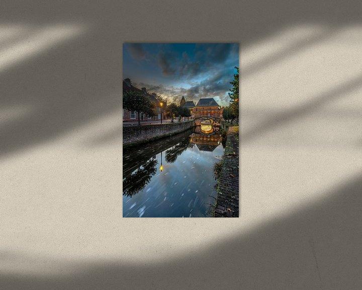 Sfeerimpressie: Zonsondergang bij de Koppeloort van Dennisart Fotografie
