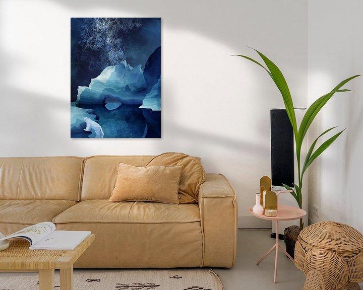 Sfeerimpressie: Nachtelijke IJsbeer van Goed Blauw