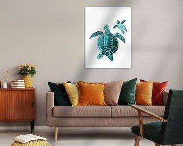 Mutterliebe, Schildkröten von Goed Blauw