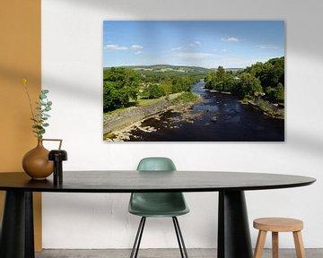 Pitlochry Dam Power Station And Fish Ladder von Babetts Bildergalerie