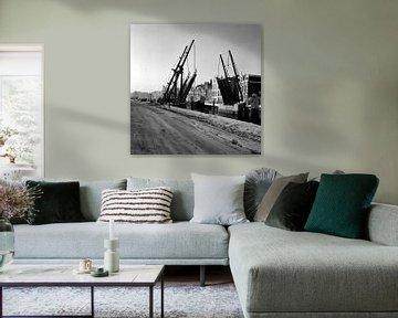 Dordrecht de Damiatebrug von Dordrecht van Vroeger