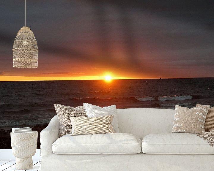 Sfeerimpressie behang: zonsopgang in Nairn van Babetts Bildergalerie